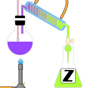 Chemistry Dictionary Z Terms Icon