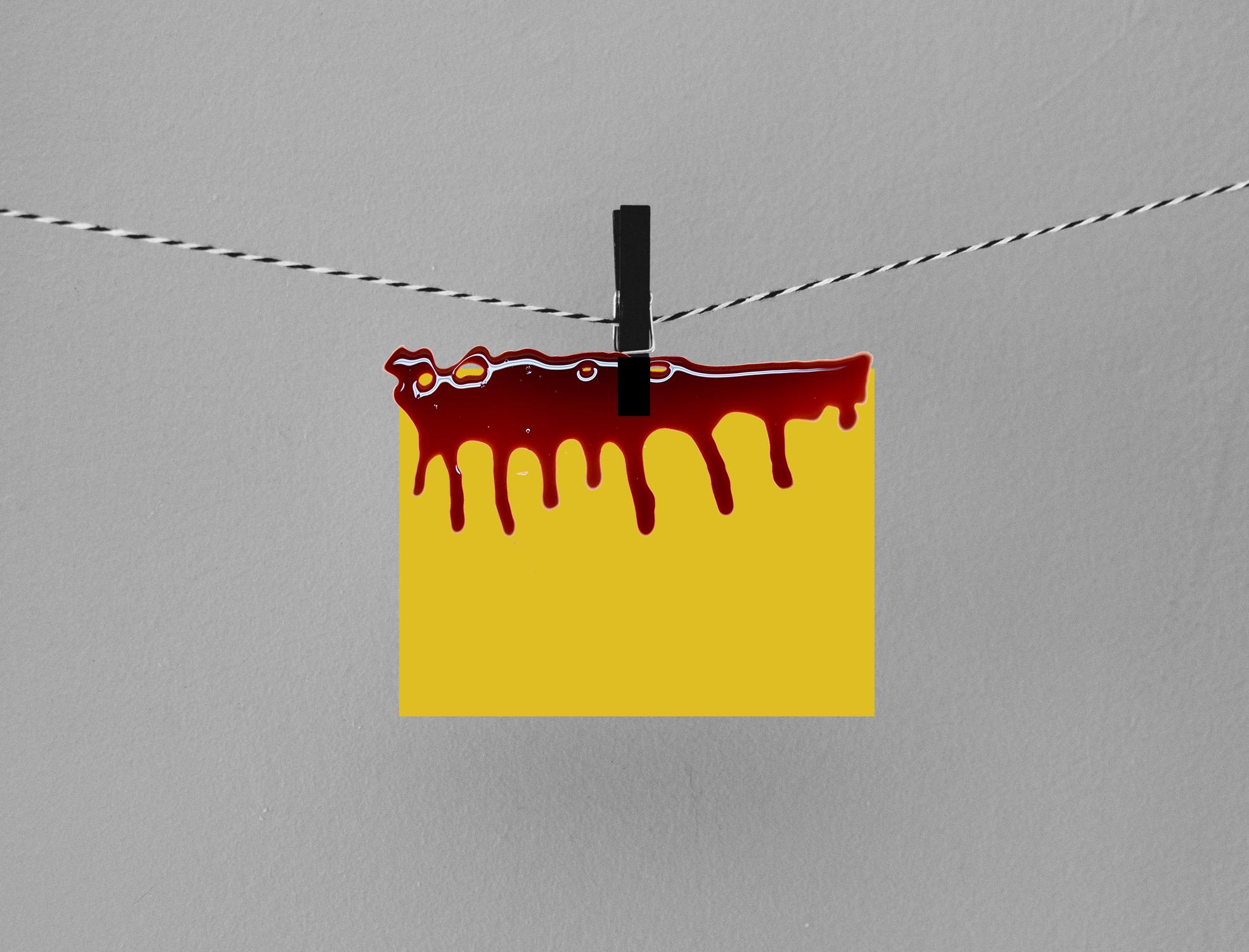 Bleeding Goldenrod Paper - Halloween Science Project