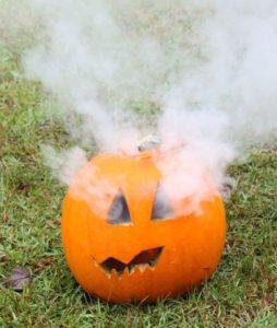 Smoke Bomb Halloween Jack o' Lantern
