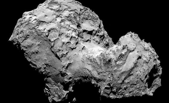 Data from Comet 67P/Churyumov-Gerasimenko or the Rosetta Comet tells us how a comet smells. ESA/Rosetta/MPS for OSIRIS Team