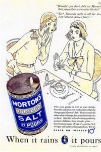 1920s Morton Salt Ad