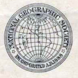 Original National Geographic Society Logo