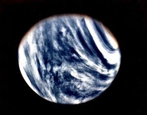 Ultraviolet Venus by Mariner 10