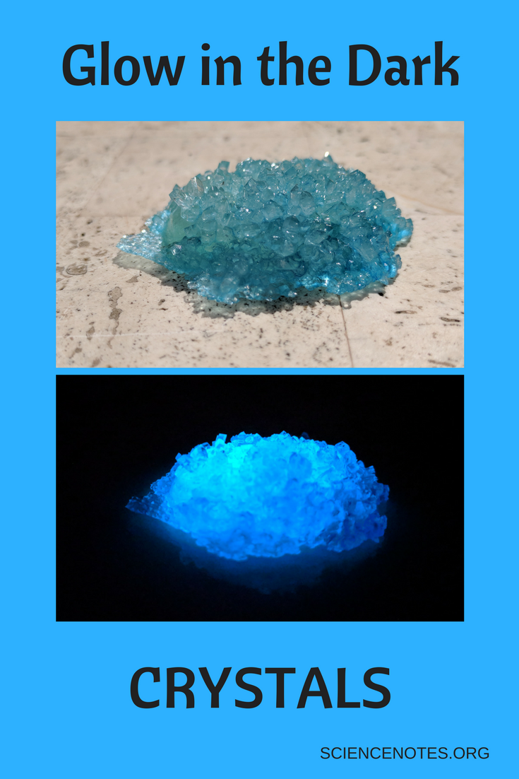 How to Grow Glow in the Dark Crystals