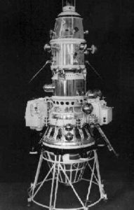Luna 10 spacecraft