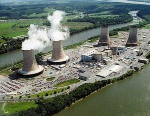 Three Mile Island nuclear power facility