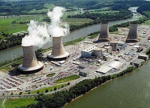 Three Mile Island nuclear power facility