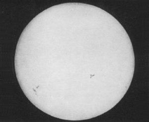 First Sun Photo