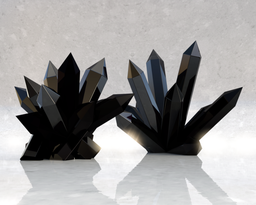 How to Grow Black Crystals