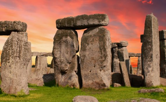 The largest solstice celebration in the world is at Stonehenge in England.