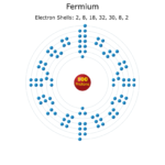 Electron Levels of a Fermium Atom