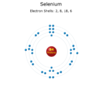 Electron Levels of a Selenium Atom