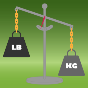 Lbs to Kg Conversion