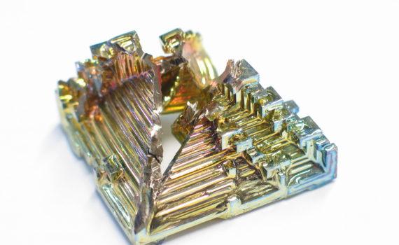 Bismuth crystals (Dschwen)