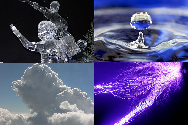 10 Examples of Solids, Liquids, Gases, and Plasma