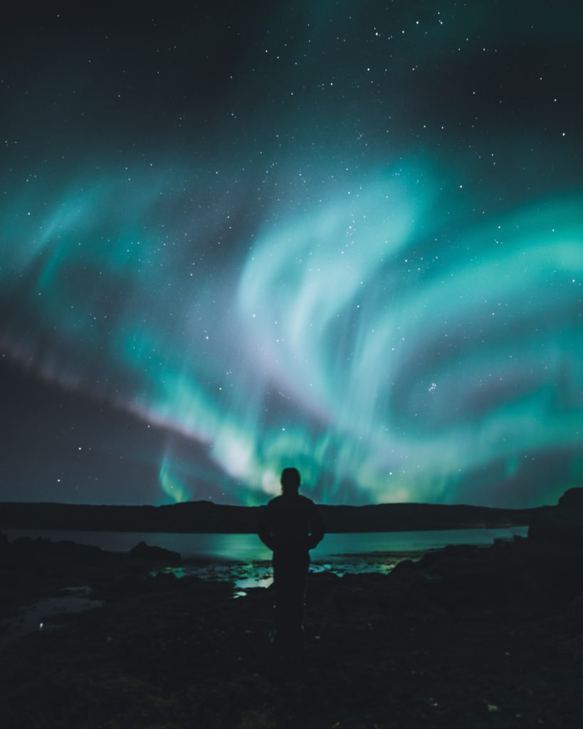 If you want to hear the aurora sound, listen on a calm, clear night. (Luke Stackpoole)