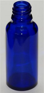 Cobalt glass is used for its color and to protect light-sensitive liquids. (Jurii)