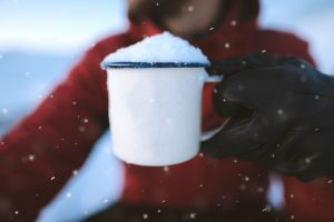 Use fresh snow as an ingredient in snow ice cream or to freeze any recipe.