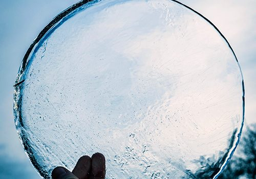 disk of ice