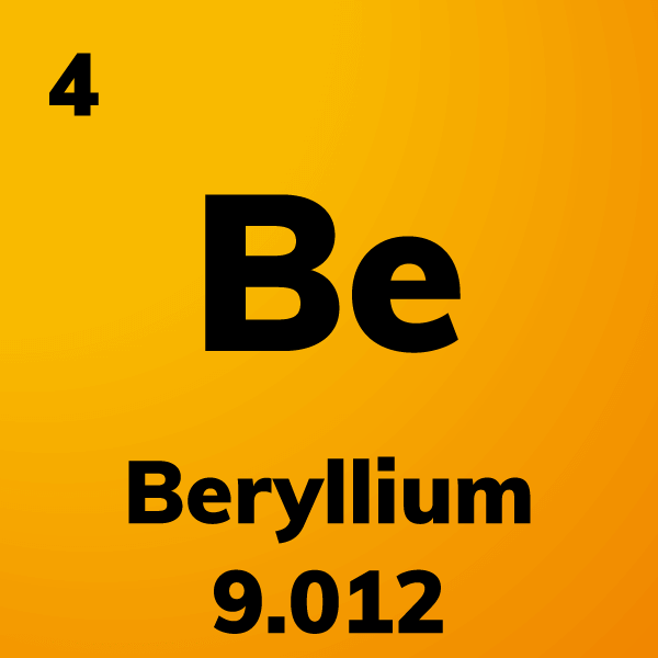 Beryllium Element Card