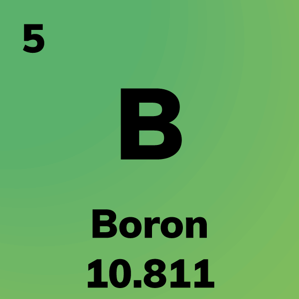 Boron Element Card