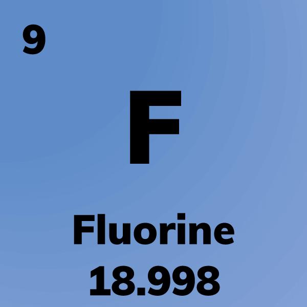 Fluorine Element Card
