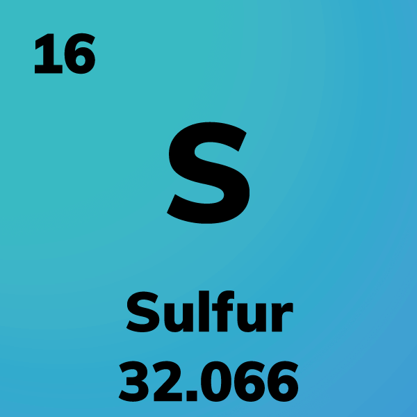 Sulfur Element Card