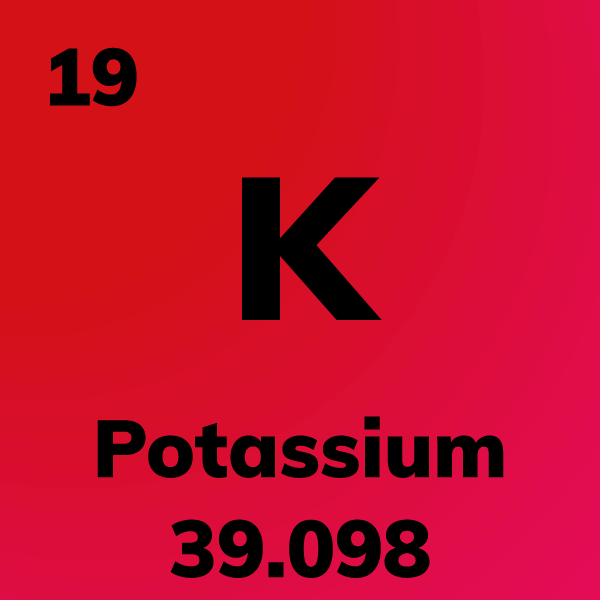 Potassium Element Card