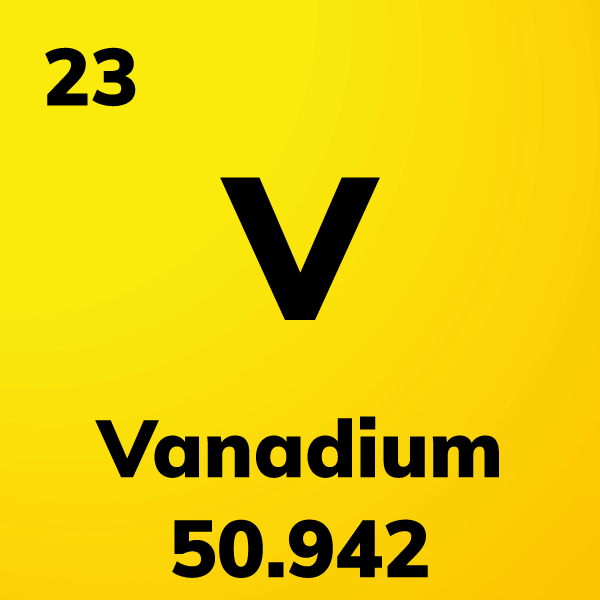 Vanadium Element Card