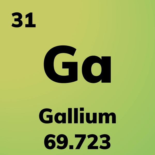 Gallium Element Card