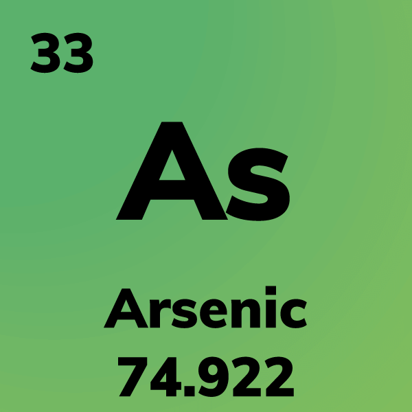 Arsenic Element Card