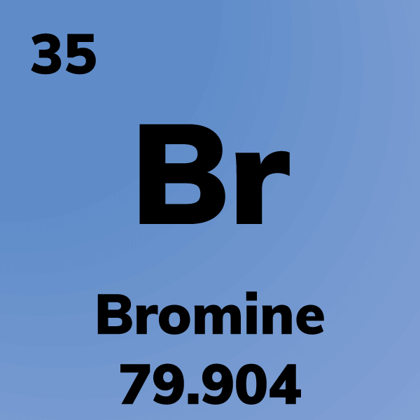 Bromine Element Card