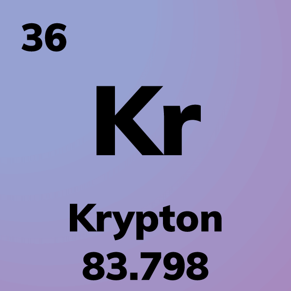 Krypton Element Card