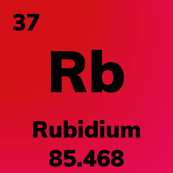 Rubidium Element Card