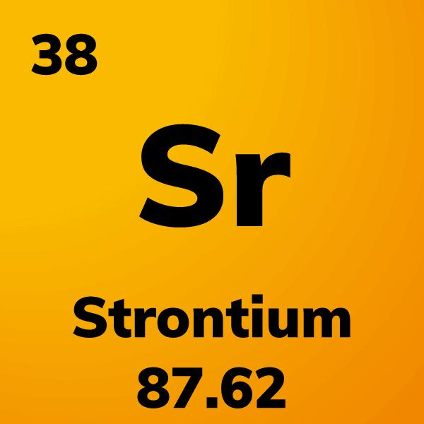 Strontium Element Card