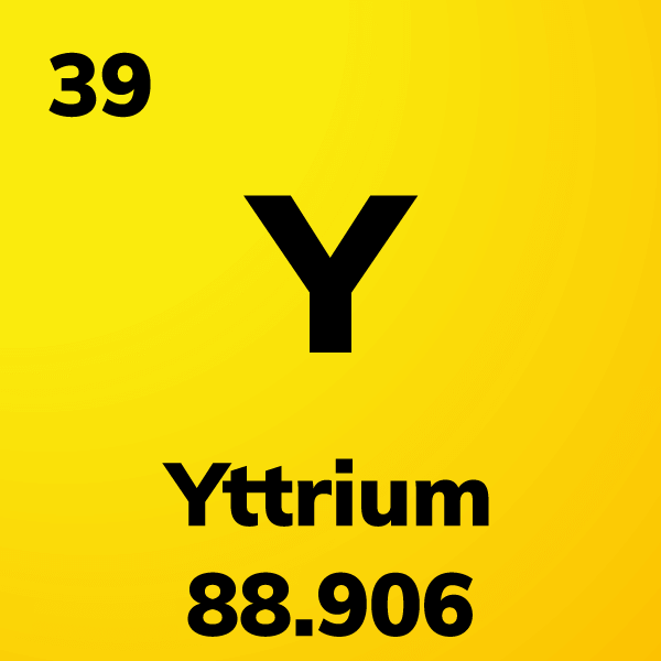 Yttrium Element Card