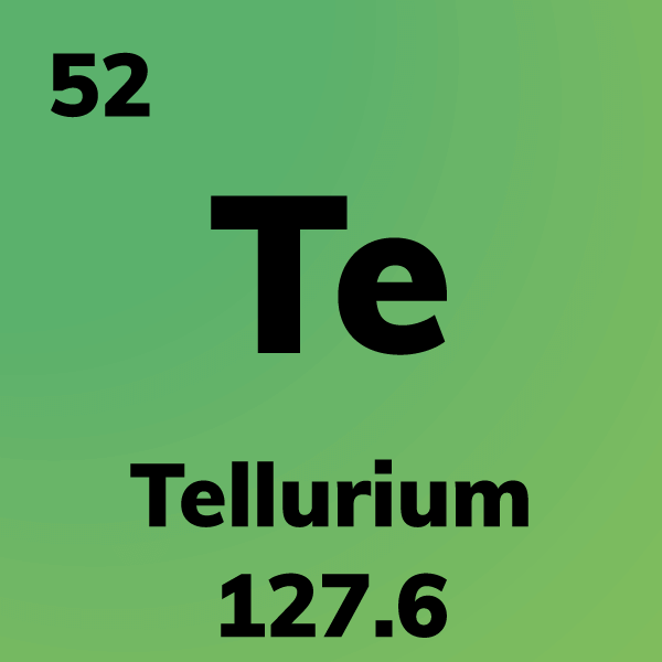 Tellurium Element Card