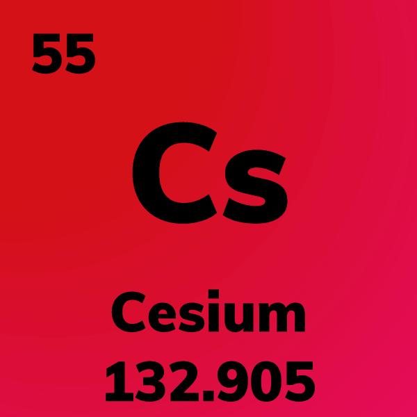 Cesium Element Card