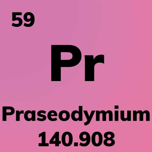 Praseodymium Element Card