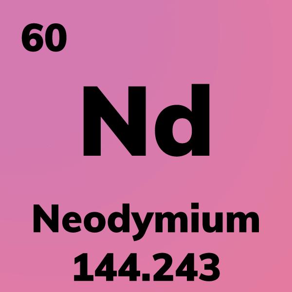 Neodymium Element Card
