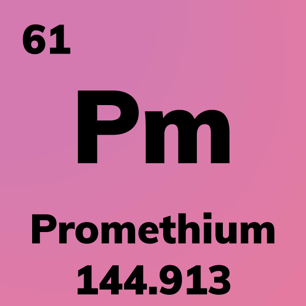 Promethium Element Card