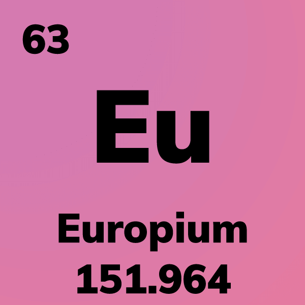 Europium Element Card