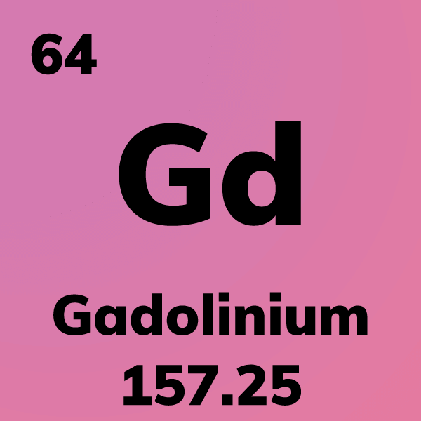Gadolinium Element Card