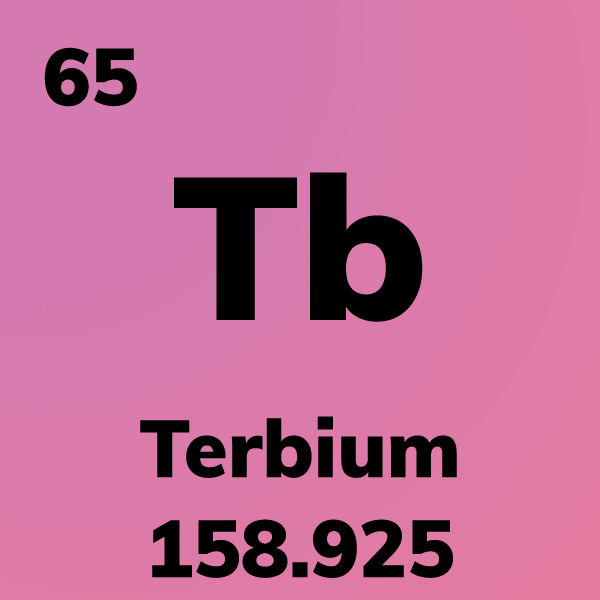 Terbium Element Card