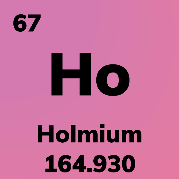Holmium Element Card