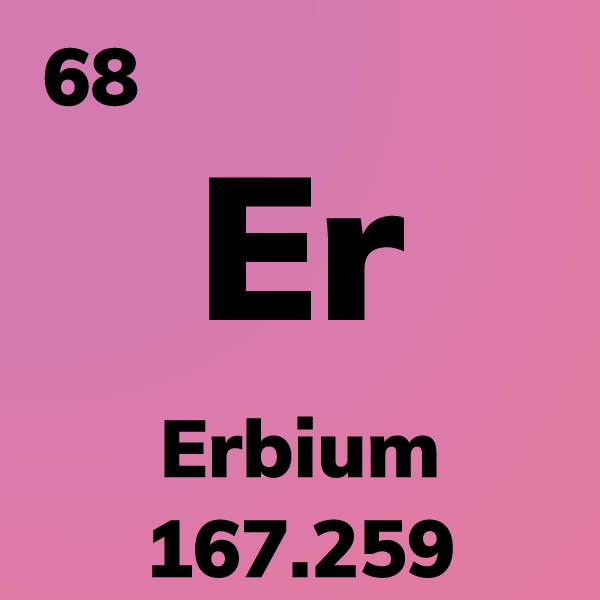 Erbium Element Card
