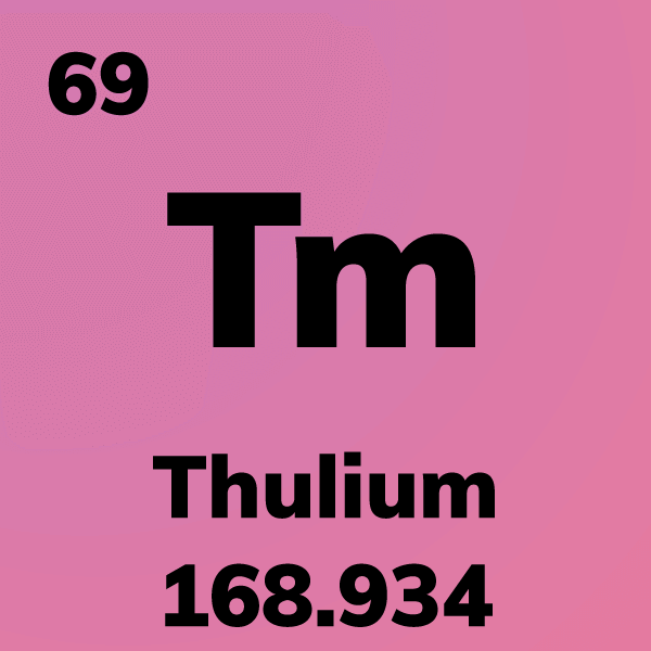 Thulium Element Card