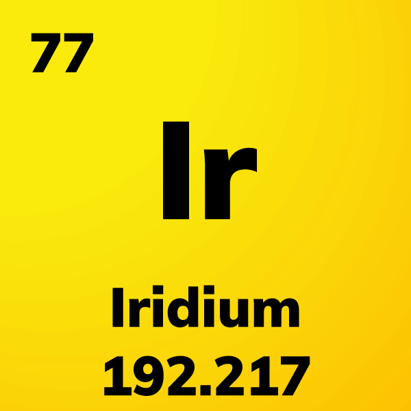 Iridium Element Card