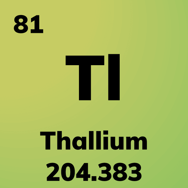 Thallium Element Card