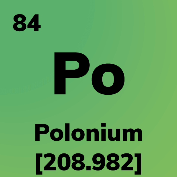 Polonium Element Card